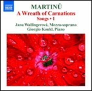 Lieder vol.1 - CD Audio di Bohuslav Martinu