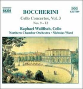 Concerti per violoncello vol.3 - CD Audio di Luigi Boccherini