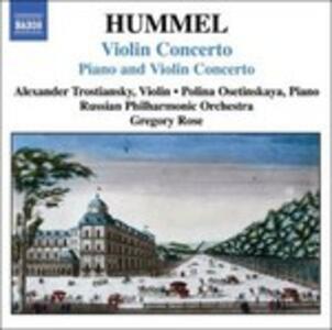 Violin Concerto - CD Audio di Johann Nepomuk Hummel