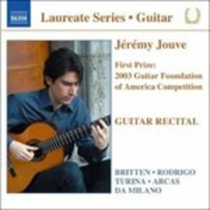 Guitar Recital - CD Audio di Jeremy Jouve
