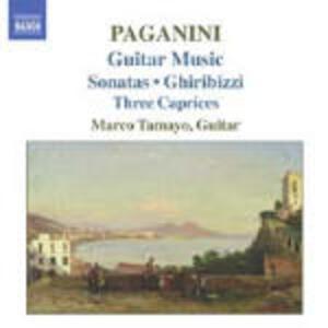 Sonate n.4, n.6, n.14, n.30 - Grand Sonata - Capricci n.5, n.11, n.24 - CD Audio di Niccolò Paganini,Marco Tamayo