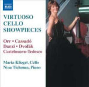 Virtuoso Cello Showpieces - CD Audio di Maria Kliegel