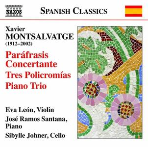 Opere per violino e pianoforte - CD Audio di Xavier Montsalvadtge