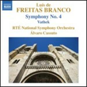 Opere per orchestra vol.4 - CD Audio di Luis de Freitas Branco