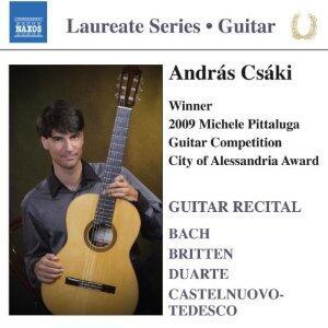 Guitar Recital. Laureate Series - CD Audio di Andras Csaki