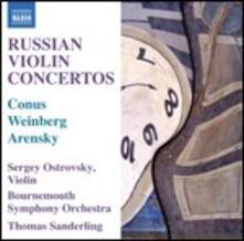 Concerto per violino - CD Audio di Anton Stepanovich Arensky