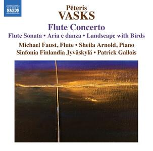 Concerto per flauto - Sonata per flauto - CD Audio di Peteris Vasks