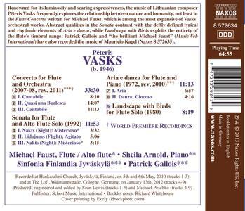 Concerto per flauto - Sonata per flauto - CD Audio di Peteris Vasks - 2
