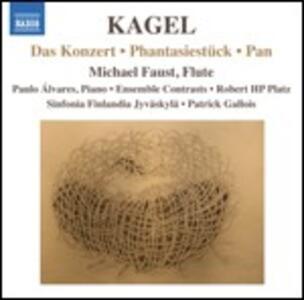 Das Konzert - Phantasiestück - Pan - CD Audio di Mauricio Kagel