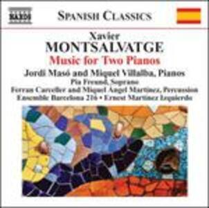 Musica per Pianoforte vol.3 - Musica per Due Pianoforti - CD Audio di Xavier Montsalvadtge