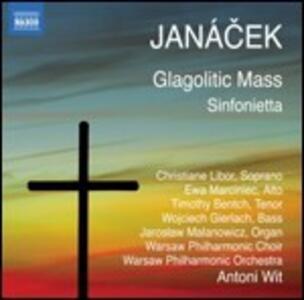 Messa glagolitica - Sinfonietta - CD Audio di Leos Janacek,Antoni Wit