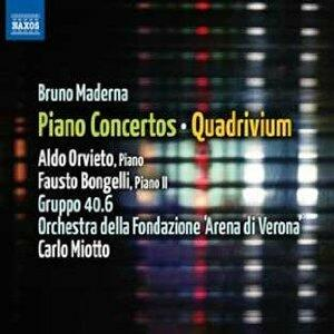 Concerti per pianoforte - Concerti per 2 pianoforti - Quadrivium - CD Audio di Bruno Maderna