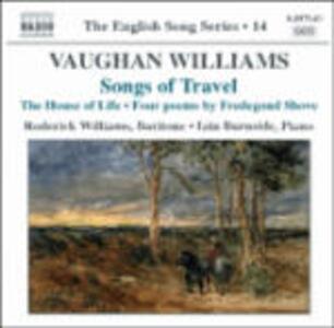 Songs of Travel - CD Audio di Ralph Vaughan Williams