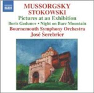 Quadri di un'esposizione (Pictures at an Exhibition) - CD Audio di Modest Petrovich Mussorgsky,Bournemouth Symphony Orchestra,José Serebrier