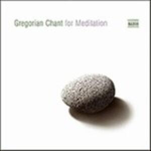 Gregorian Chant for Meditation - CD Audio