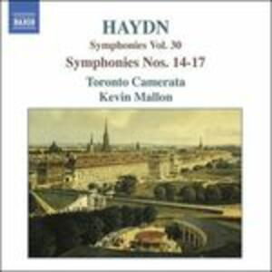 Sinfonie n.14, n.15, n.16, n.17 - CD Audio di Franz Joseph Haydn