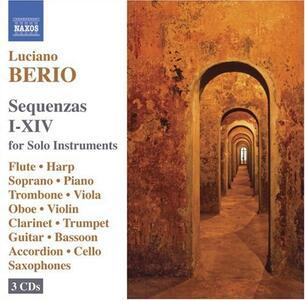 Sequenze I-XIV - CD Audio di Luciano Berio