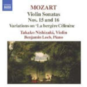Sonate per violino vol.5 - CD Audio di Wolfgang Amadeus Mozart,Takako Nishizaki,Benjamin Loeb