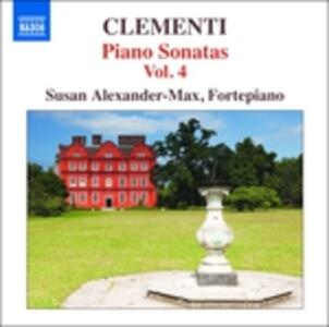 Sonate per pianoforte vol.4 - CD Audio di Muzio Clementi