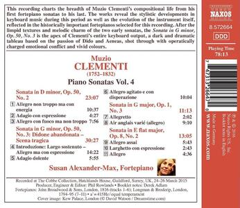 Sonate per pianoforte vol.4 - CD Audio di Muzio Clementi - 2