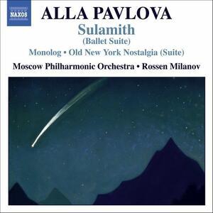 Sulamith - Monolog - Old New York Nostalgia - CD Audio di Alla Pavlova
