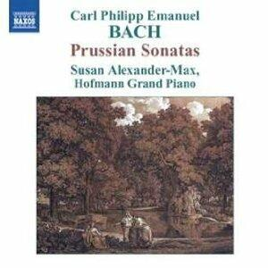 Sonate prussiane WQ48 - CD Audio di Carl Philipp Emanuel Bach,Susan Alexander-Max