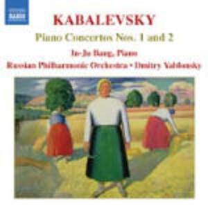 Concerti per pianoforte n.1, n.2 - CD Audio di Dmitri Borissovic Kabalevsky,Russian Philharmonic Orchestra,Dmitri Yablonsky,In-Ju Bang