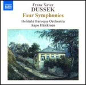 4 Sinfonie - CD Audio di Franz Xaver Dussek