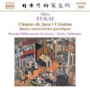 Image Symphonique - 4 Mouvements parodiques - Creation - CD Audio di Russian Philharmonic Orchestra,Dmitri Yablonsky,Shiro Fukai