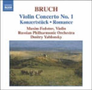 Concerto per violino n.1 - Romanza op.42 - CD Audio di Max Bruch,Russian Philharmonic Orchestra,Dmitri Yablonsky,Maxim Fedotov