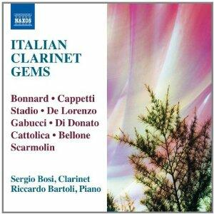 Gemme italiane per clarinetto - CD Audio di Sergio Bosi