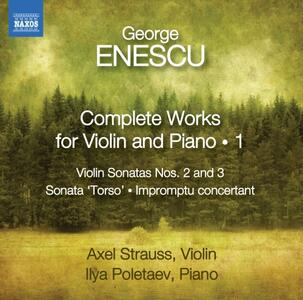 Opere per violino e pianoforte - CD Audio di George Enescu