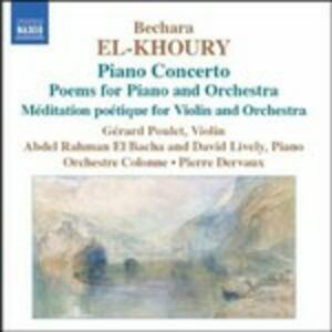 Concerto per Piano - CD Audio di Bechara El-Khoury