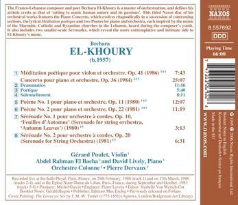 Concerto per Piano - CD Audio di Bechara El-Khoury - 2