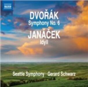 Sinfonia n.6 - CD Audio di Antonin Dvorak,Gerard Schwarz,Seattle Symphony Orchestra