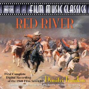 Red River (Colonna Sonora) - CD Audio di William T. Stromberg,Moscow Symphony Orchestra,Dimitri Tiomkin