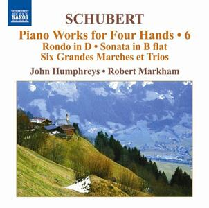 Piano Works for Four Hand - CD Audio di Franz Schubert