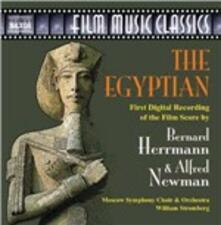 The Egyptian (Colonna sonora) - CD Audio di Bernard Herrmann,Alfred Newman
