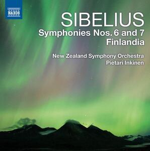 Sinfonie n.6, n.7 - CD Audio di Jean Sibelius,New Zealand Symphony Orchestra,Pietari Inkinen
