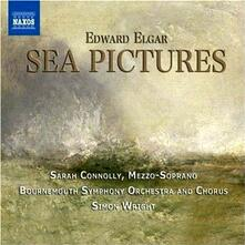 Sea Pictures - The Music Makers - CD Audio di Edward Elgar,Bournemouth Symphony Orchestra,Sarah Connolly,Simon Wright