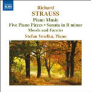 Opere per pianoforte vol.5 - CD Audio di Richard Strauss,Stefan Veselka