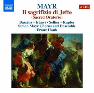 Il sagrifizio di Jefte - CD Audio di Johann Simon Mayr
