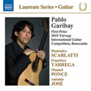 Guitar Recital. Laureate Series - CD Audio di Pablo Garibay