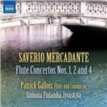 Concerti per flauto e orchestra - CD Audio di Saverio Mercadante,Patrick Gallois,Sinfonia Finlandia