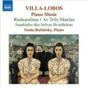 Musica per pianoforte vol.6 - CD Audio di Heitor Villa-Lobos