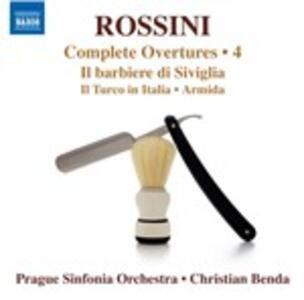 Ouvertures vol.4 - CD Audio di Gioachino Rossini