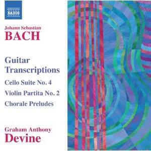 Trascrizioni per chitarra - CD Audio di Johann Sebastian Bach,Graham Anthony Devine