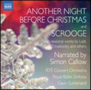 Another Night Before Christmas and Scrooge - CD Audio di Gavin Sutherland