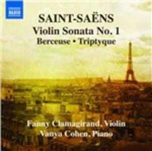 Opere per violino e pianoforte vol.1 - CD Audio di Camille Saint-Saëns