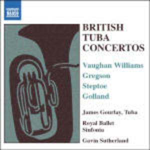 British Tuba Concertos - CD Audio